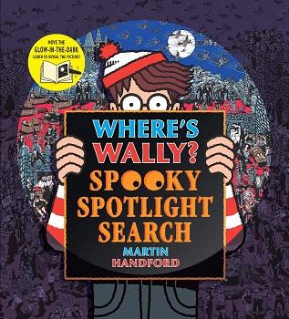Wheres Wally Spooky Spotlight Search by Martin Handford