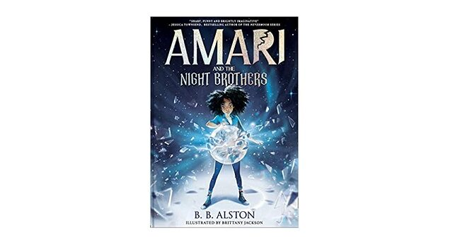 Feature Image - Amari and the Night Brothers by B.B. Alston
