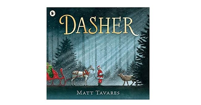 Feature Image - Dasher by Matt Tavares