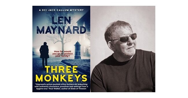 Feature Image - Three Monkeys by Len Maynard