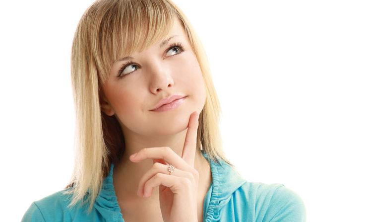 Woman Deciding on Dental Implants