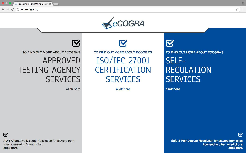 イーコグラ公式サイト画面