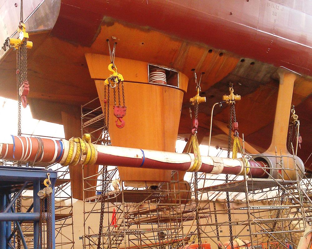 Vessel-Shaft-Removal