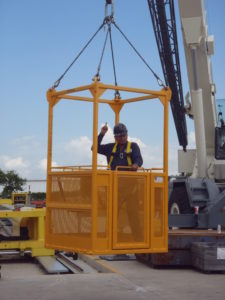 personnel lifting basket