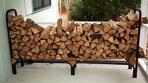 Stacking of firewood