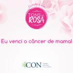Eu venci o câncer de mama!