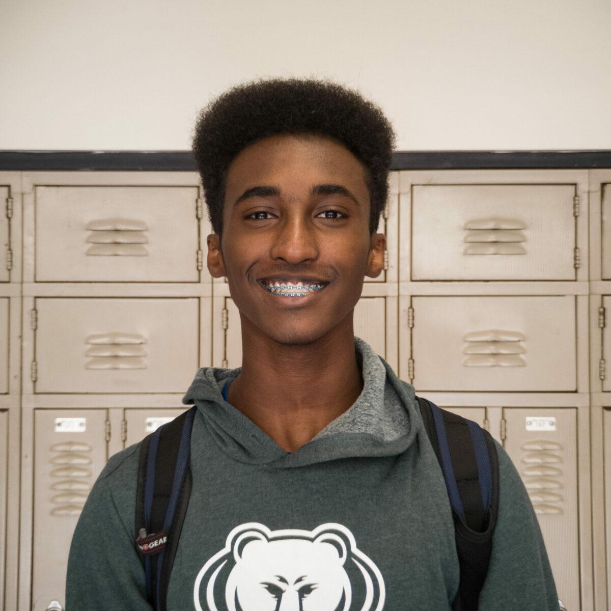 Chris Mesfin, sophomore