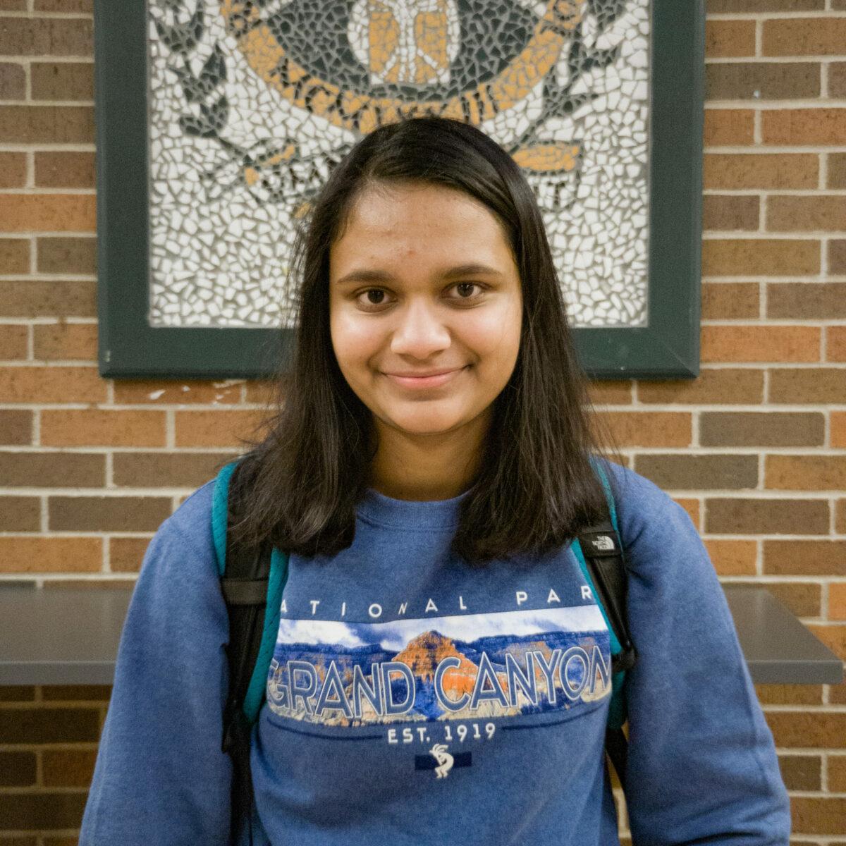 Saloni Chaurasia, freshman