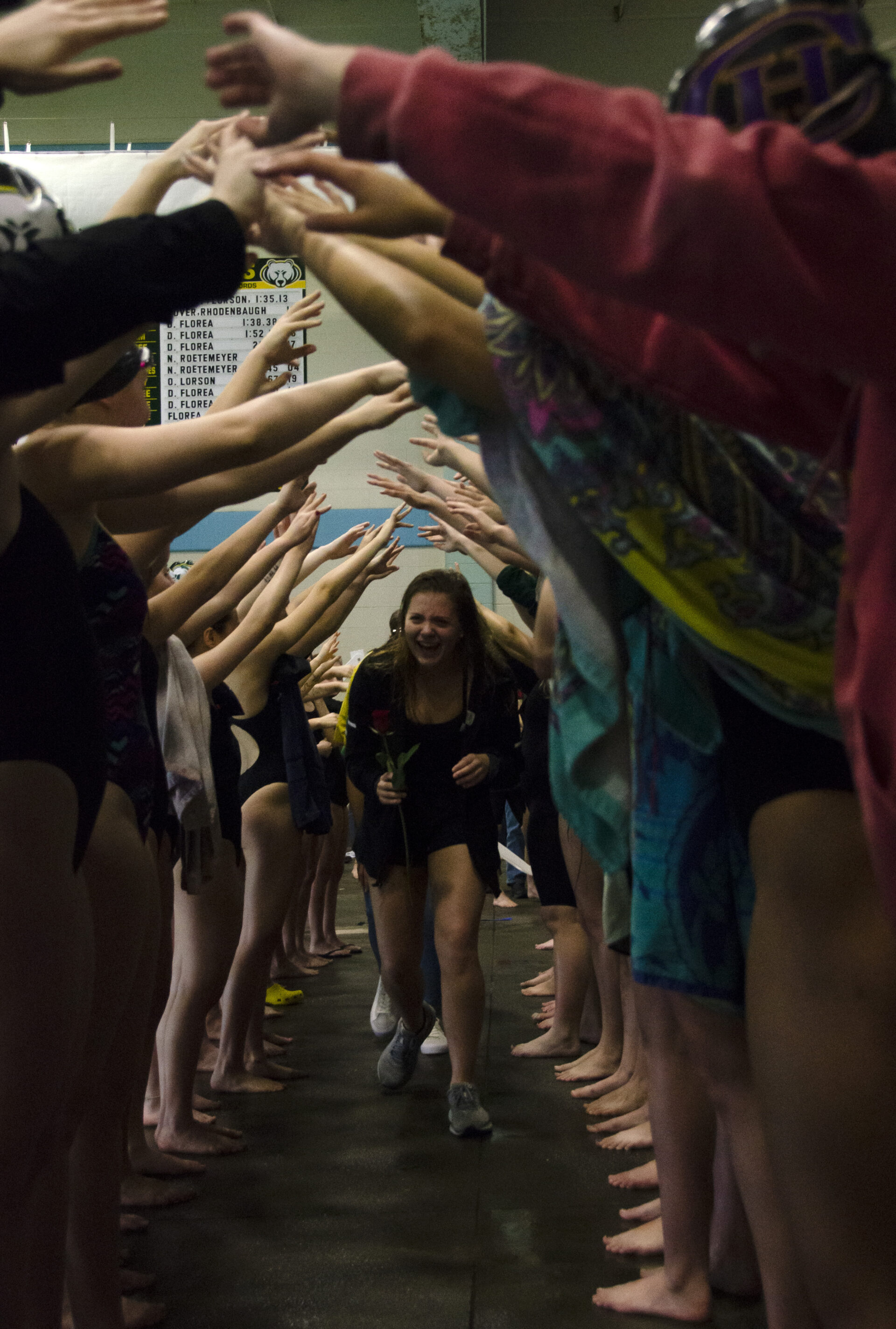 Girls' swim and dive competes in Last Chance Invitational