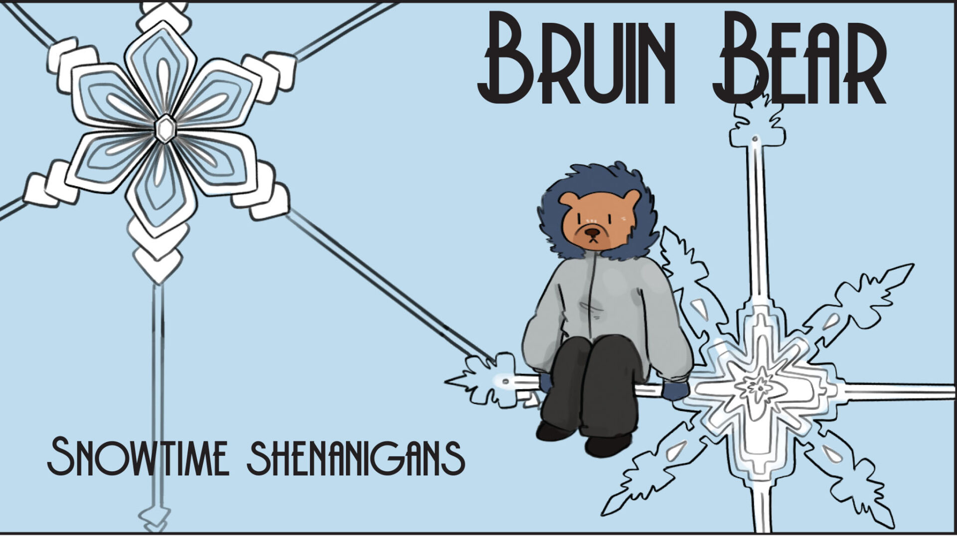 Bruin Bear's Snowtime Shenanigans