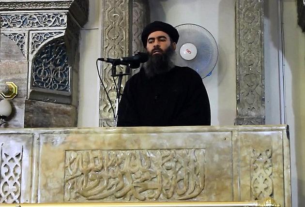 Abu Bakr al-Baghdadi - Al-Furqan Media/Anadolu Agency/Getty Images