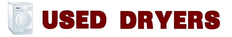 used dryer link