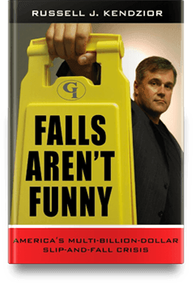 Falls aren't funny book cover