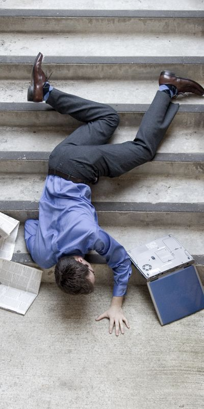 #1 Cause of Employee and Guest Injury for Most Industries is a Slip, Trip, or Fall!