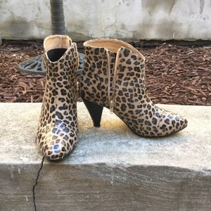 Leopard Low Heel