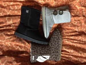 Bear Paw Ankle Boots