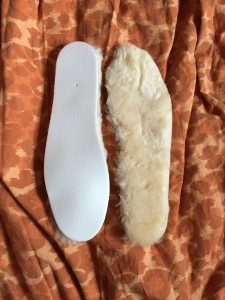 UGG replacement insole