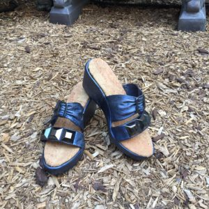 Completed recycled sandal
