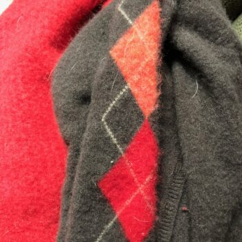 Upcycled Felted Cashmere Sweaters