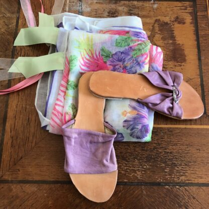 Lilac sandals