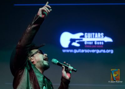 Guitar Over Guns Benefit Performs in the Gleason Room at the Fillmore Miami Beach at the Jackie Gleason Theater November 21, 2015