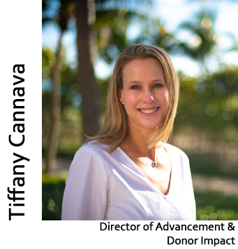 Tiffany Cannava, Director of Advancement & Donor Impact