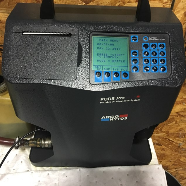 Portable Laser Particle Counter