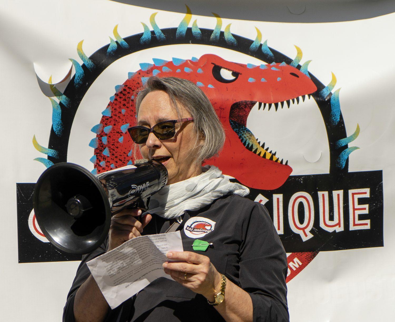Discours prononcé par Denise Laprise à la Marche pour une politique climatique (16septembre2018)