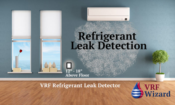 VRF Refrigerant Leak Detection