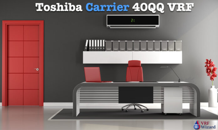 Toshiba Carrier 40QQ VRF Rooftop Unit