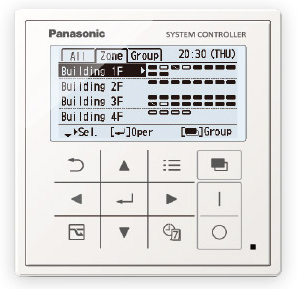 Panasonic VRF Central Controller