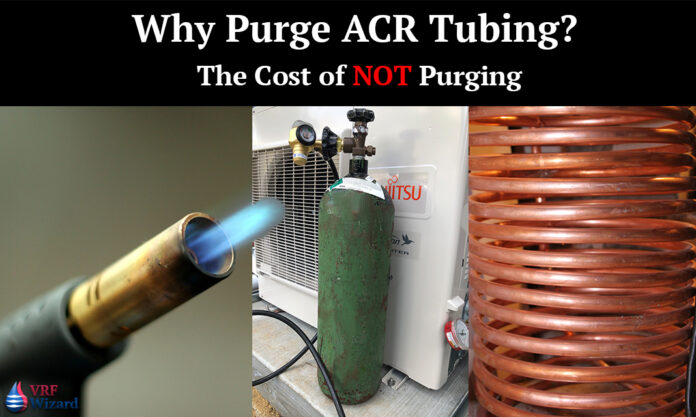 Nitrogen Purge ACR Tubing Recovered
