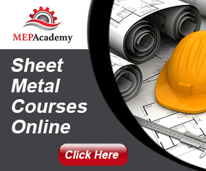 MEP Academy Ad for Sheet Metal Courses Online