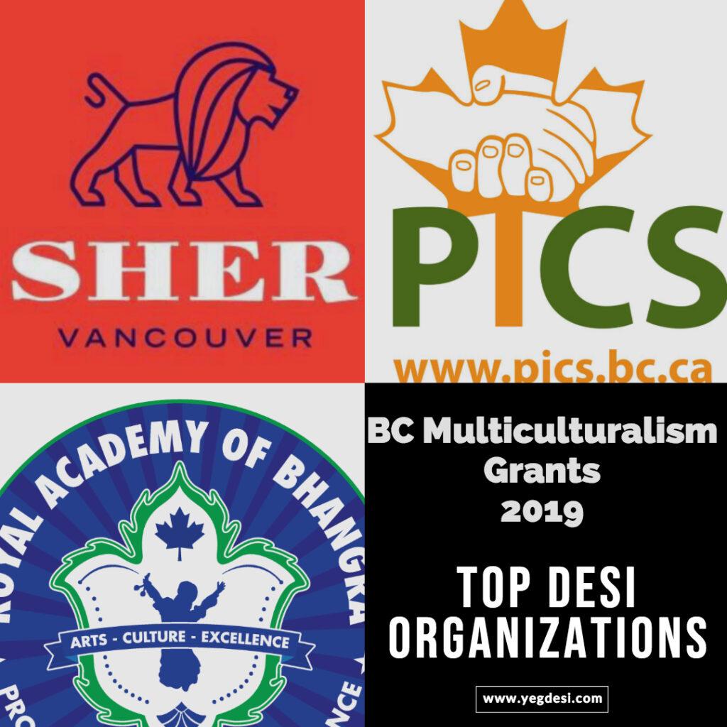 Top Desi Organizations in Canada