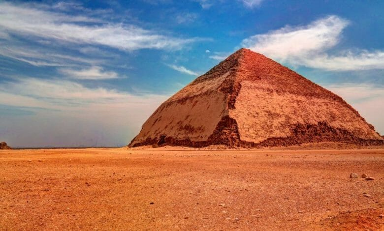 Bent and Red Pyramids- Dahshur Tour in Egypt