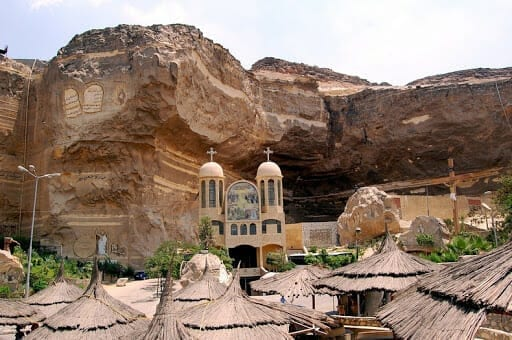 The Cave Church in Cairo Egypt