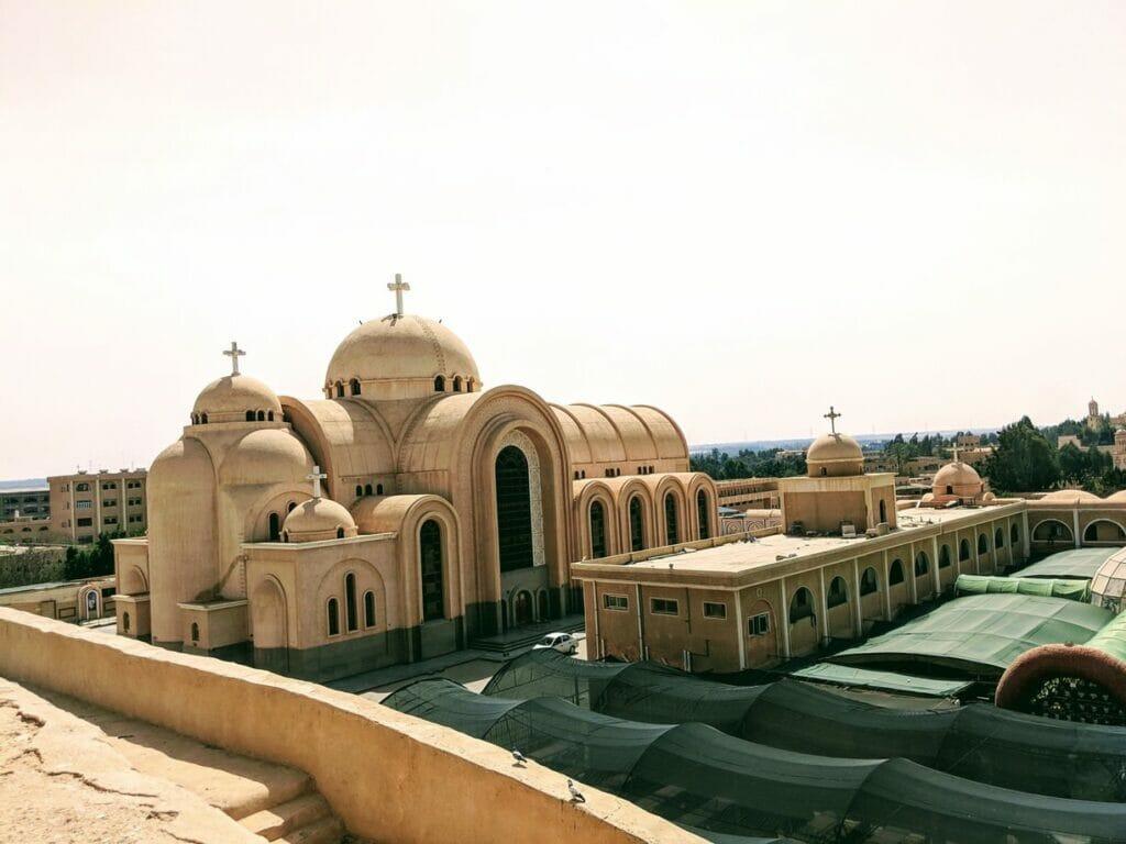 Saint Bishoy Monastery in Wadi El Natrun Egypt