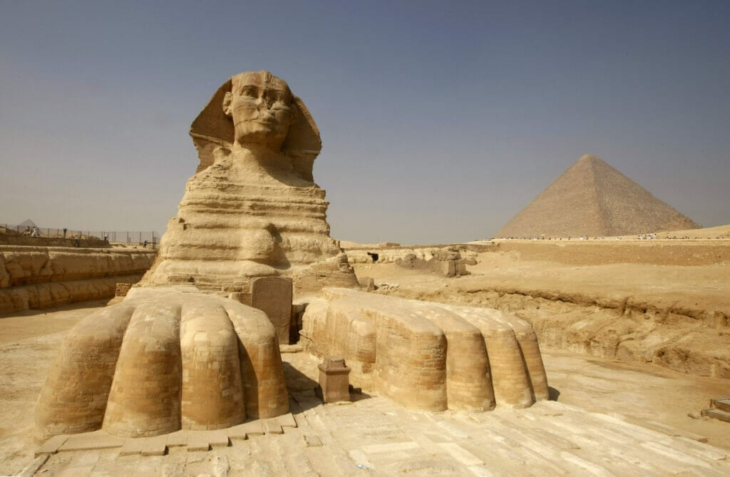 The Sphinx of Giza Egypt