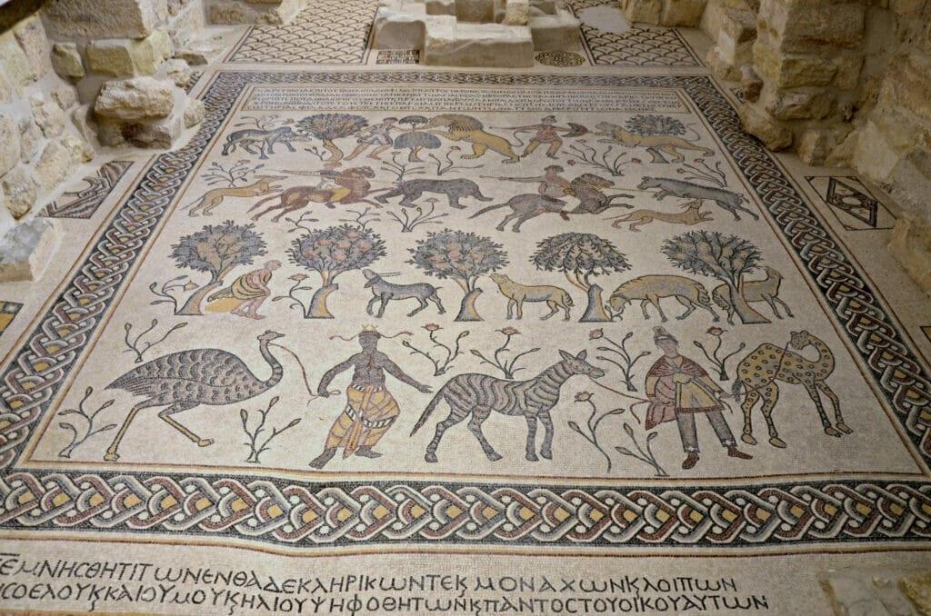 The Mosaic Mount Nebo