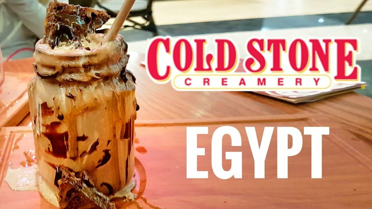 US Ice Cream in Egypt- Reason to visit Egypt from USA