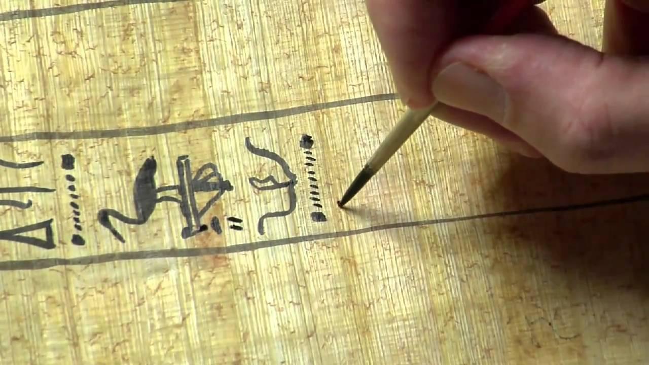 Hieroglyphic-The World Oldest Written Language- Ancient Egyptian Written Language