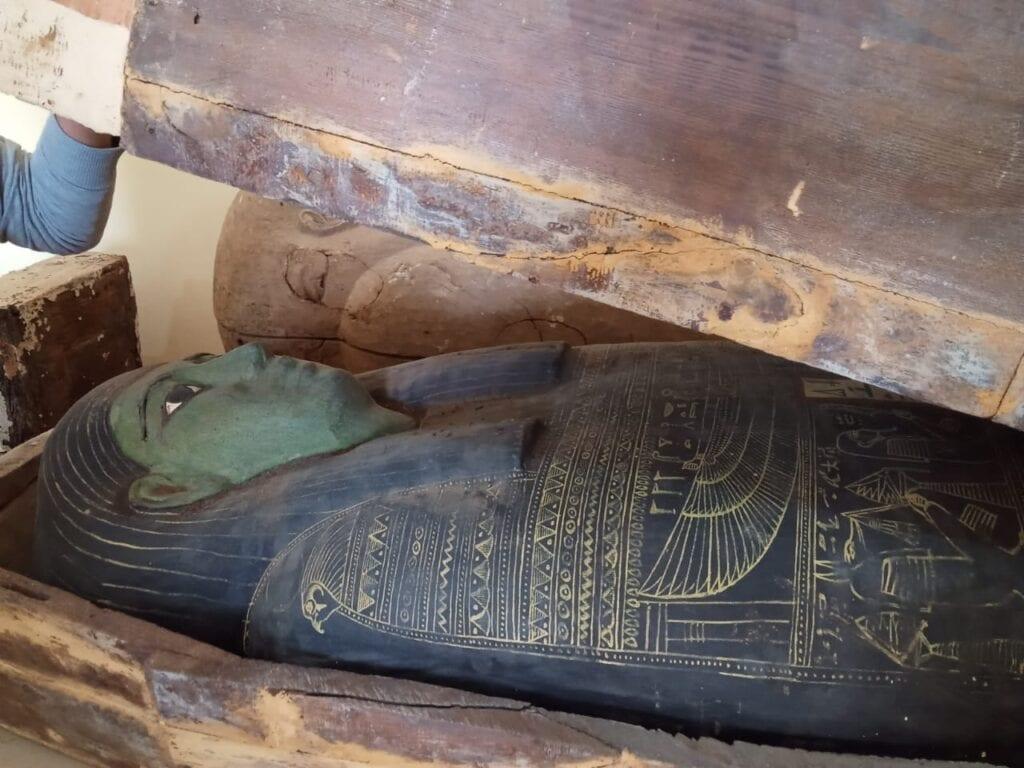 New Discovery in Saqqara Egypt