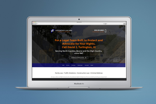 Turlington Law Firm Launches New Website