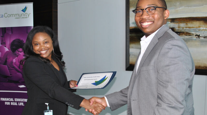 Delta Community Credit Union Scholarship Recipient