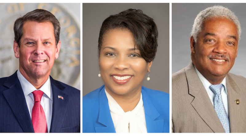 Virtual Townhall with city and state leaders georgia south fulton