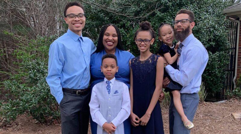Franchesca Warren School Board with Family