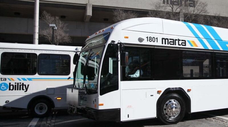 MARTA BUS - ATLANTA - SOUTH FULTON