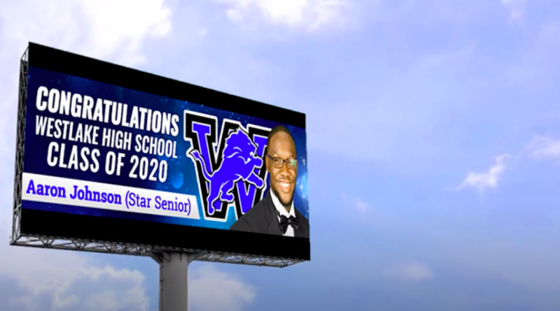 westlake high top 25 billboard campaign