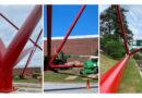 gateway sculpture - fulton industrial