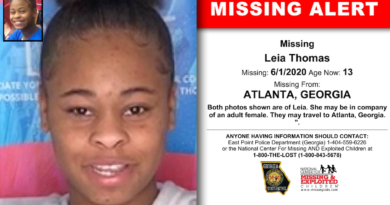 leia thomas - missing south fulton student
